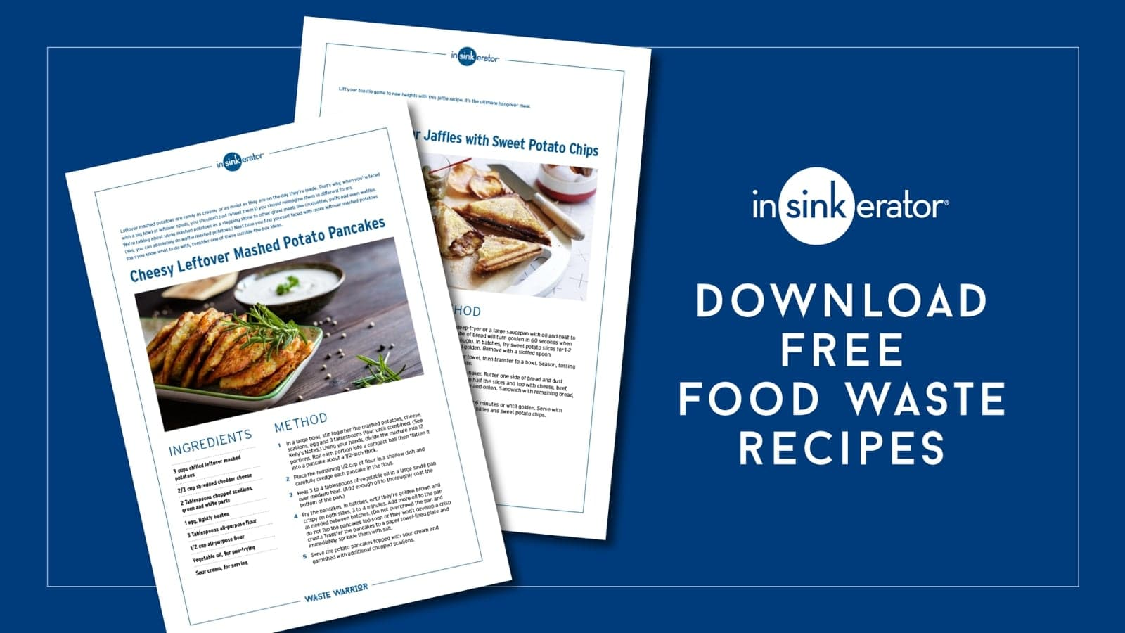 Download free food waste recipes